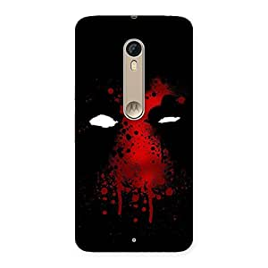 Ajay Enterprises Blood Face Back Case Cover for Motorola Moto X Style
