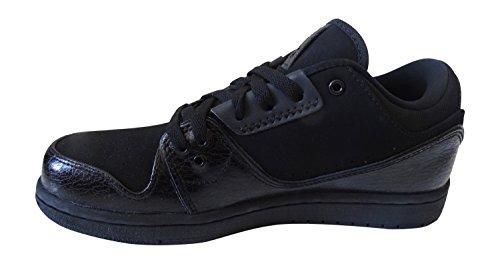 the best attitude b153c 5d396 nike air jordan 1 flight 2 low mens trainers 654465 sneakers shoes (uk 7.5  us 8.5 eu 42, black black 010)