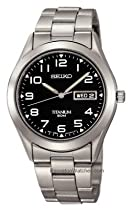 Men's watches special offers - Seiko Men's Titanium Watch #SGG711 :  seiko mens watch