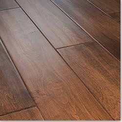 Harbors Collection - Distressed Engineered Wood Flooring Maple - Deluxe / 6 in. / 5/8 in. / Length: