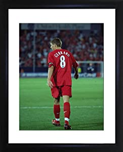 Steven Gerrard Framed Photo by Picture Favourites
