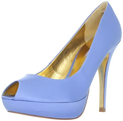 Ted Baker Women's Svana lll Platform Pump,Blue,5 M US