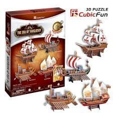 The Era of Navigation Puzzle in 3d Form
