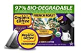 The ORGANIC COFFEE COMPANY FRENCH ROAST 24 ONE CUPS for Keurig K-Cup Brewers