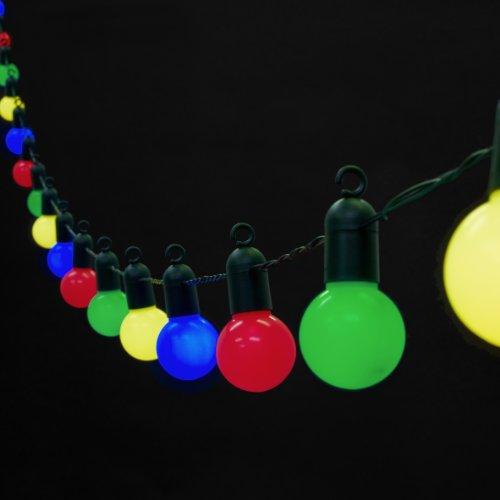 Guirlande lumineuse guinguette exterieur