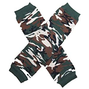 CAMOUFLAGE (CAMO) Baby Leggings/Leggies/Leg Warmers for Cloth Diapers - GIRLS & ONE SIZE by BubuBibi