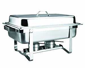 Amazon.com - LACOR 69110 ST STEEL GN 1/1 CHAFING-DISH W/LID