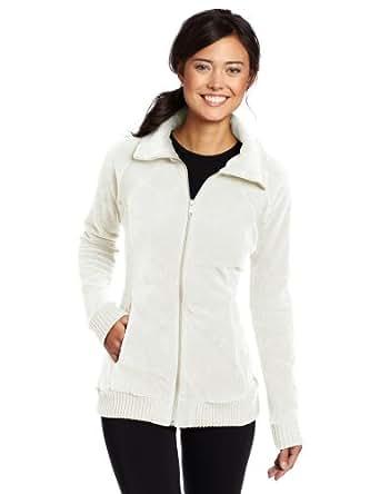 Columbia Women's Benton Springs Rib Mix Full Zip Jacket, Sea Salt, Large