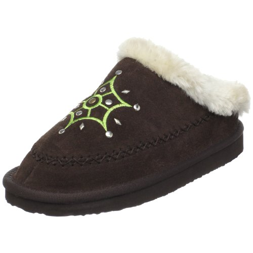 Cheap Woolenstocks Suede Scuff Slipper (Toddler/Little Kid/Big Kid) (B003N2QL28)