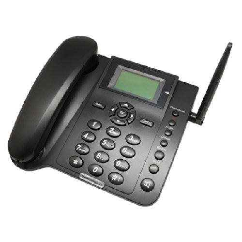 Wireless Gsm Desk Phone - Quadband, Sms Function
