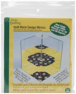 Amazon.com: Dritz Quilting Quilt Block Design Mirrors