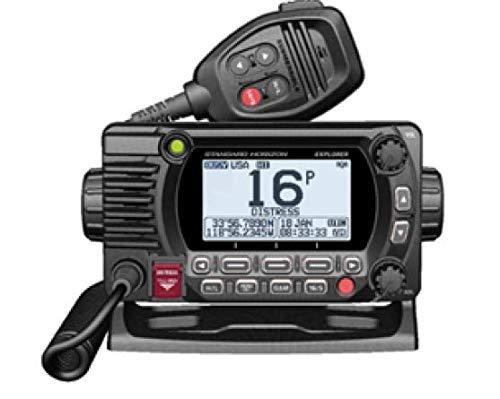 Standard Horizon GX1800GB Black 25W VHF/GPS/Second Station Explorer Series (Color: Black, Tamaño: One Size)
