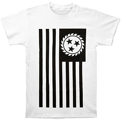 Treask Whitechapel Men's Simple Flag T-shirt White