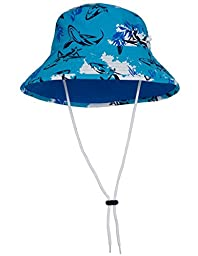 Tuga Boys Bucket Hat (UPF 50+), Laguna, Large