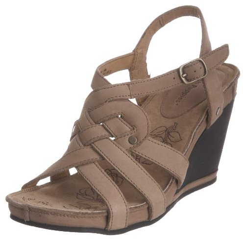 Hush Puppies Women's Bira Taupe Wedges H25529050 5 UK
