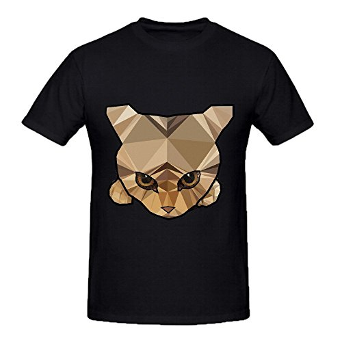 kitten-cats-men-o-neck-casual-tee-black