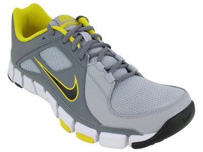A COOL Picture of Nike Men's NIKE FLEX SHOW TR TRAINING SHOES 9.5 Men US  (WOLF GREY/BLACK/CL GRY/TR YLLW)