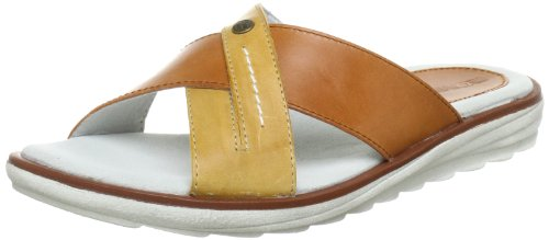 Romika Samoa 11 Sandals Womens Brown Braun-Beige (terra-safran 838) Size: 3.5 (36 EU)