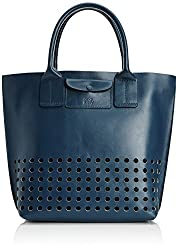 Orla Kiely Tille Leather Travel Tote