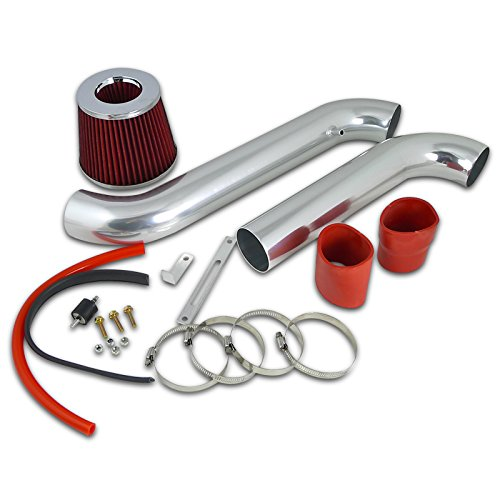 Honda Accord Dx Lx Ex Se L4 4Cyl Cold Air Intake+Red Filter