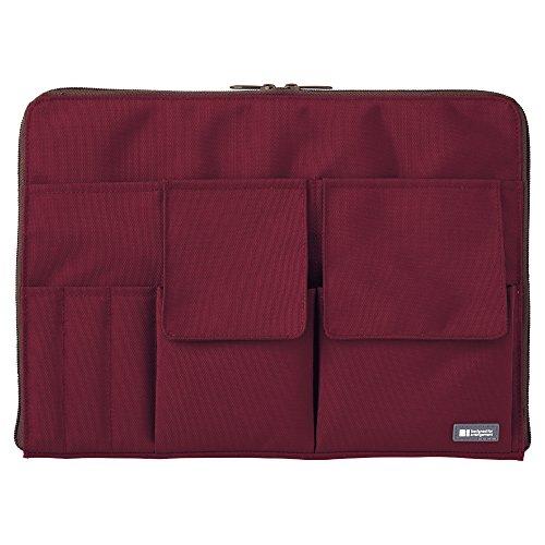 リヒトラブ バッグインバッグ A4 A7554-29 ワインレッド