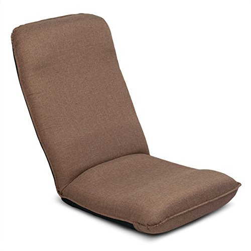 座椅子 姿勢を保ち、腰をいたわるヘッドリクライニング座椅子 FR SM460 ブラウン 日本製
