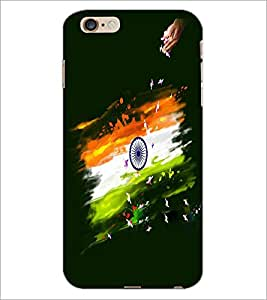 PRINTSWAG INDIAN FLAG Designer Back Cover Case for APPLE IPHONE 6 PLUS G355H