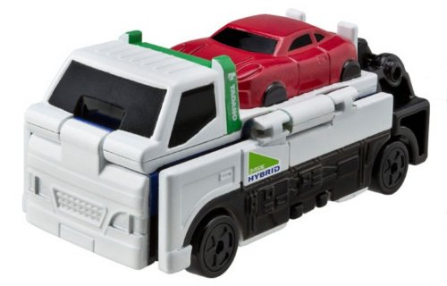 Bandai VooV FR06 Transforming Toy Car [TADANO Slide Carrier - Rough Terrain Crane] - 1