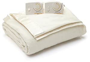 Biddeford Blankets Biddeford QUEEN Heated Blanket with Analog Controller - Neutral at Sears.com