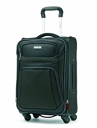 Samsonite Luggage Aspire Sport Spinner 21 Expandable Bag, Black, Carry-on