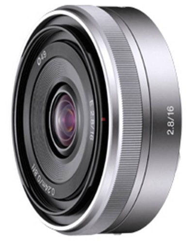 Sony SEL16F28 Alpha NEX Series Lens - 16mm F2.8