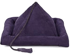 Peeramid Bookrest Pillow- Eggplant Purple from Hog Wild Toys