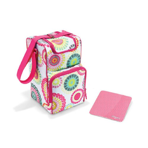 Thirty One Pack N' Pour Thermal Set In Citrus Medallion - No Monogram - 4502 front-311699