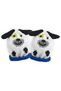 Joobles Organic Baby Mittens - Pip the Dog