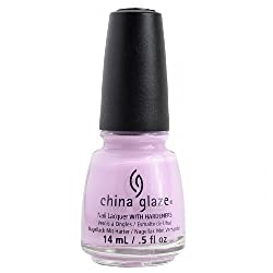 China Glaze Avant Garden Collection, In A Lily Bit, Light Pur