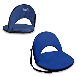 Oniva Seat - Seattle Seahawks - When You Need A Recreational Reclining Seat Thats Lightweight And Portable The Oniva Seat Is For You It Has An Adjustable Shoulder Strap And Six Adjustable Positions For Reclining The Seat Cover Is Made Of Red Polyest by Pi