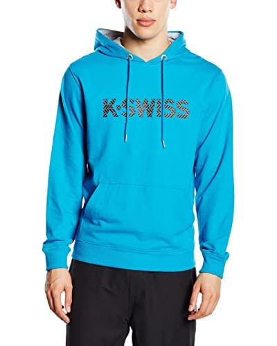 K-Swiss Kapuzensweatshirt K Spell Out Hd II royalblau