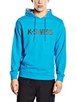 K-Swiss Sudadera con Capucha K Spell Out Hd II (Azul Royal)