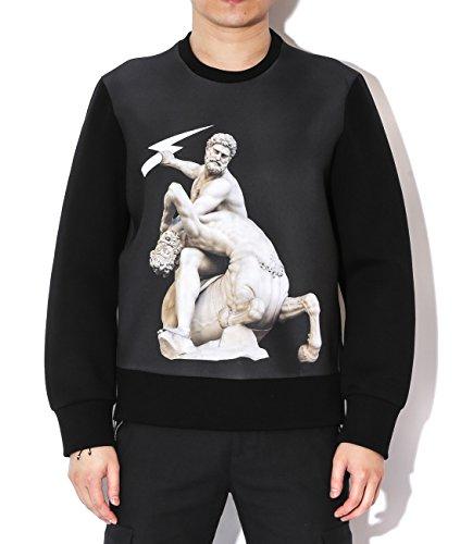 neil-barrett-mens-hercules-with-centaur-statue-print-sweatshirt-xs-black