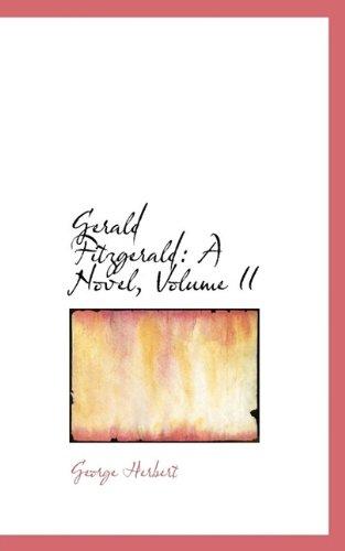Gerald Fitzgerald: A Novel, Volume II
