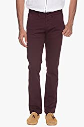 Cotton made Maroon Pants