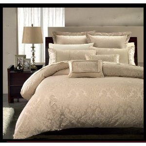 Amazon.com - Luxury Sara 12PC King Size Bed in a Bag Set. Incudes: One Duvet cover, Two pillow ...