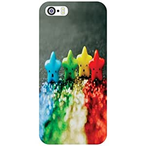 Printland Back Cover For Apple iPhone 5S - Splash Phone Cover (Printed Designer)