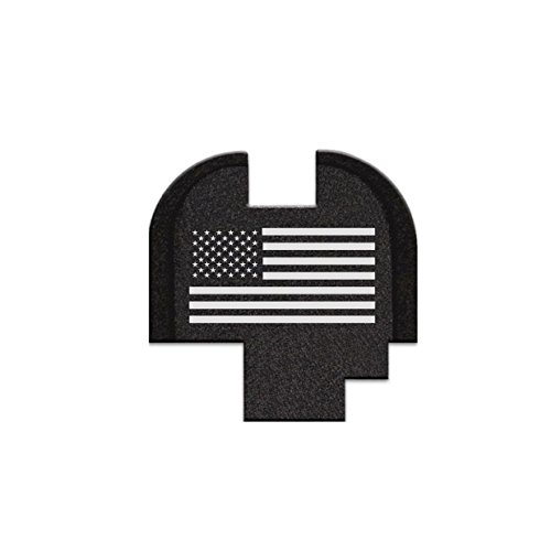 Rear Slide Cover Plate, Butt Plate For Springfield Armory XDS - USA Flag (Springfield Rear Slide Plate compare prices)