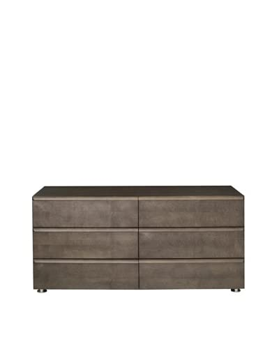 Urban Spaces Boma Double Dresser, Gray