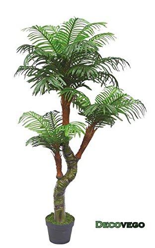 Palme-Palmenbaum-Cycuspalme-Kunstpflanze-Kunstbaum-Knstliche-Pflanze-mit-Topf-165cm-Decovego