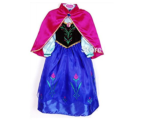 Frozen Anna Princess Character Costume Dress, Size 3t