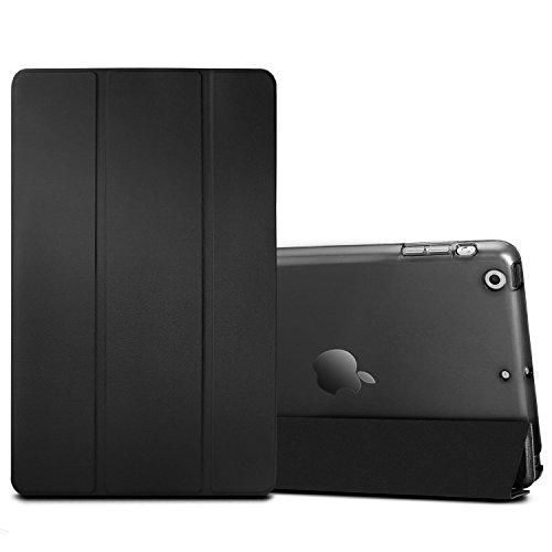iPad mini Case, iPad mini 2 Cover, Supstar Slim-Fit Folio with Auto Wake/Sleep Smart Stand Magnetic PU Leather Hard Case for Apple iPad mini 1/2/3 - Black (Ipad Mini Hard Cover compare prices)