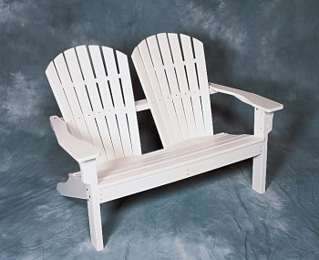 Enviro Wood Shell Back Adirondack Love Seat - Buy Enviro Wood Shell Back Adirondack Love Seat - Purchase Enviro Wood Shell Back Adirondack Love Seat (Barry's Front Porch, Home & Garden,Categories,Patio Lawn & Garden,Patio Furniture,Chairs,Adirondack Chairs)