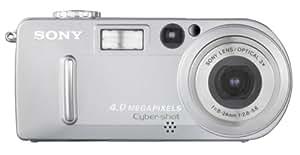 Sony DSCP9 Cyber-shot 4MP Digital Camera w/ 3x Optical Zoom